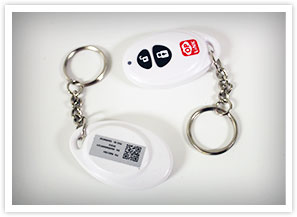 oplink key fob and back
