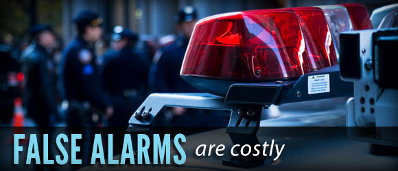 false alarms are costly